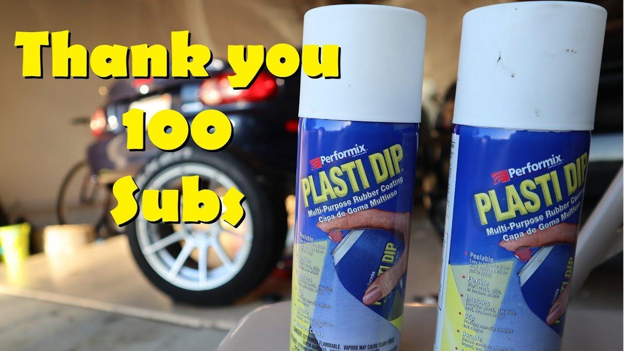 how to make plasti dip sprayable