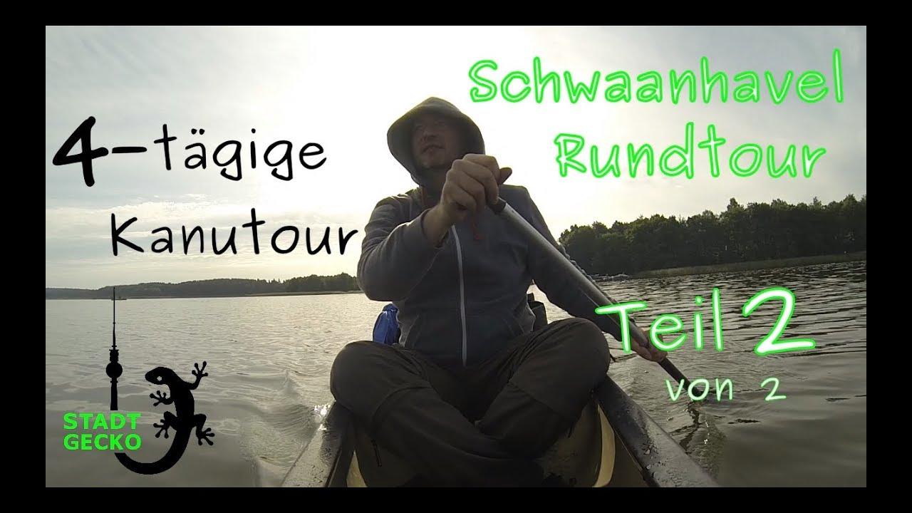 Wasserwandern Mecklenburgische Seenplatte Karte.Teil 2 4 Tagige Kanu Trekking Tour Mecklenburgische Seenplatte Schwaanhavel Wasserwandern