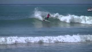John John Florence Surfing at Trestles During the World Tour of Surfing 2013 Highlights
