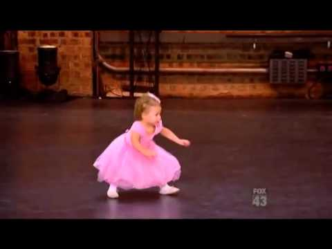 2 Year Old Girl Dancing Ballet