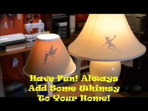 Shadow lampshade disney youtube shadow lampshade disney mozeypictures Images