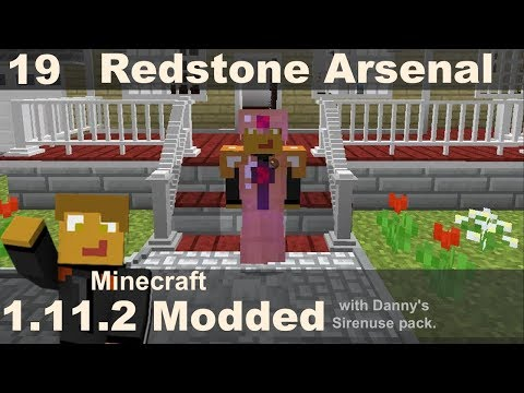 Modded 1.11.2 - Redstone Arsenal (E19)