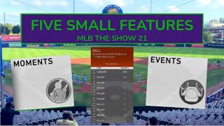 5 Small Features I Want to See in MLB The Show 21