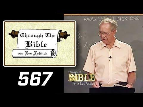 [ 567 ] Les Feldick [ Book 48 - Lesson 1 - Part 3 ] Hebrews 3:12-19  a