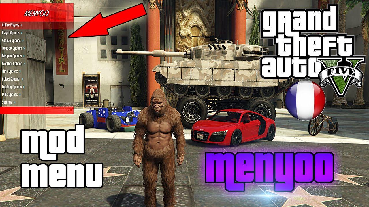 GTA 5 PC : AVOIR UN MOD MENU 'Menyoo' EN SOLO ! (PRÉSENTATION + TUTO de A à  Z)