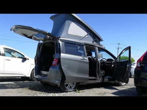 штаб на колесах Honda Freed Spike Camper на Авторынке Хабаровска