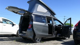 штаб на колесах Honda Freed Spike Camper на Авторы...