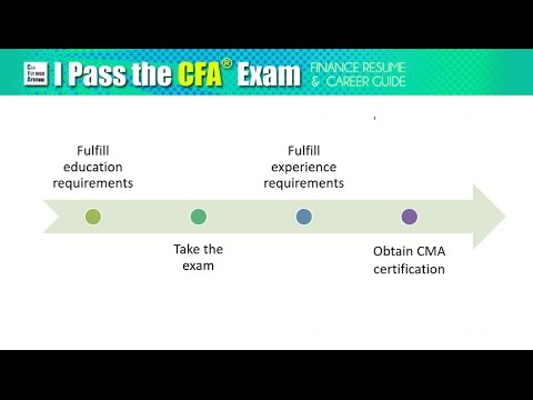 CFA Exam Requirements (Education and Experience)
