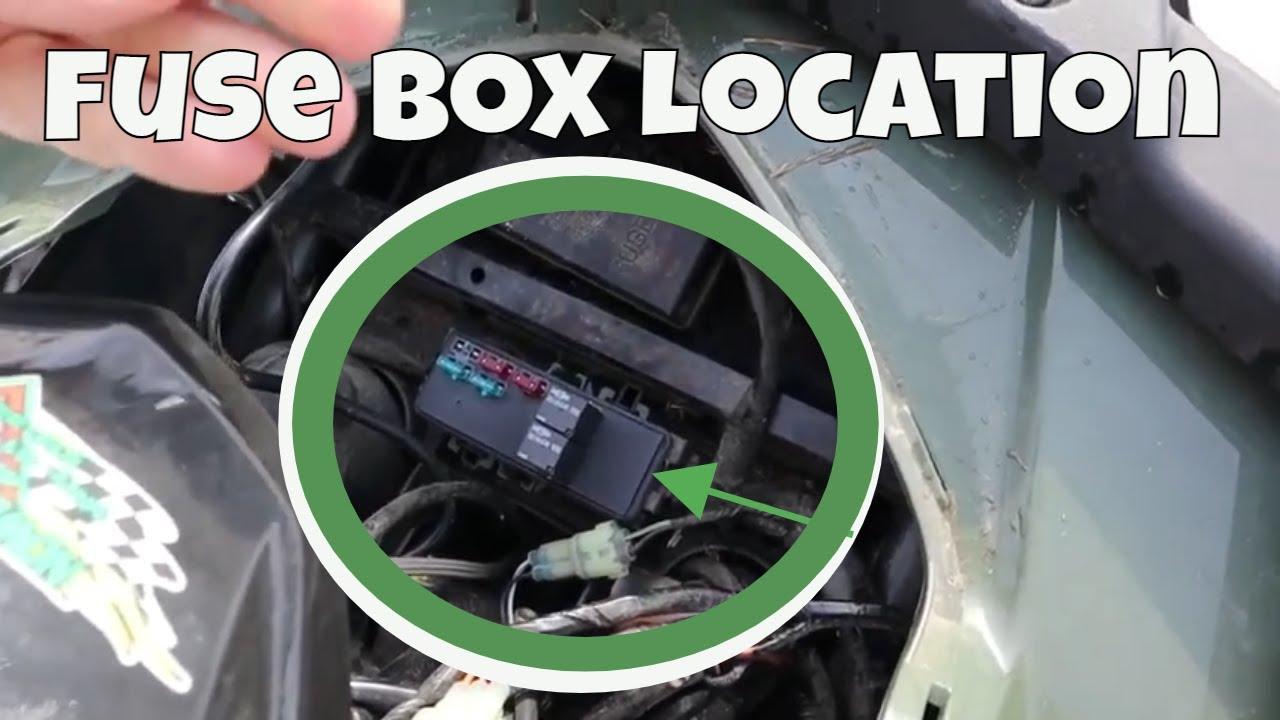 Arctic Cat Alterra 400 Fuse Box Location | Wont Start AGAIN | FIX? - YouTubeYouTube