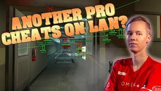 Did another Pro CHEAT at a LAN Tournament?