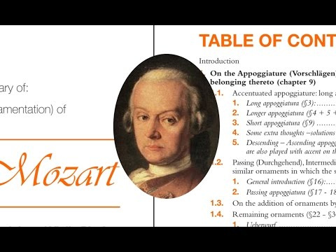 LEOPOLD MOZART'S 1756 ORNAMENTATION IN BULLET POINTS from YouTube · Duration:  7 minutes 35 seconds