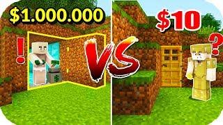 TROLL BEBEK ZENGİN VS FAKİR GİZLİ GEÇİŞİNİ BULDU! 😱 Minecraft