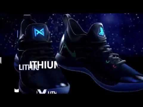 Derivación cosecha Estar confundido  Nike PG 2 PlayStation Tennis Colorway Trainers with light con luz Announce  Video - YouTube