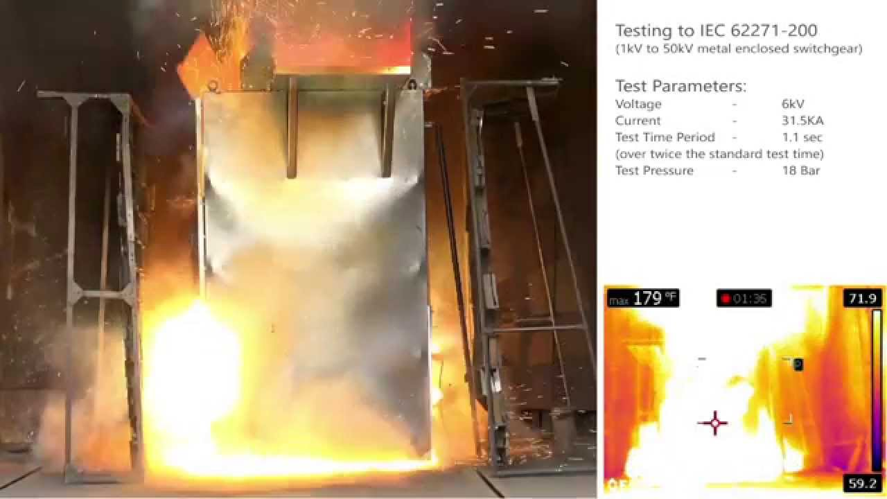IRISS Arc Flash Containment - YouTube