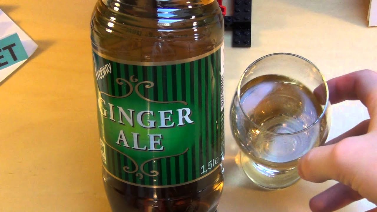 Not Your Father's Ginger Ale Beer Review Small Town Brewery - YouTube