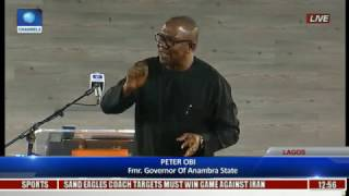 The Platform: Obi Expresses Worry On Nigeria's Level Of Borrowing, Slams Lack Of Cutting Cost Pt 5