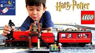 LEGO Hogwarts Express Train | Steam Engine Train Crash