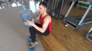 Как накачать икры в домашних условиях.Спорт по-быстрому/Calf Workout(В этом видео вы узнаете как накачать икры ног в домашних условиях подручными средствами. В качестве опоры..., 2015-05-02T11:39:21.000Z)