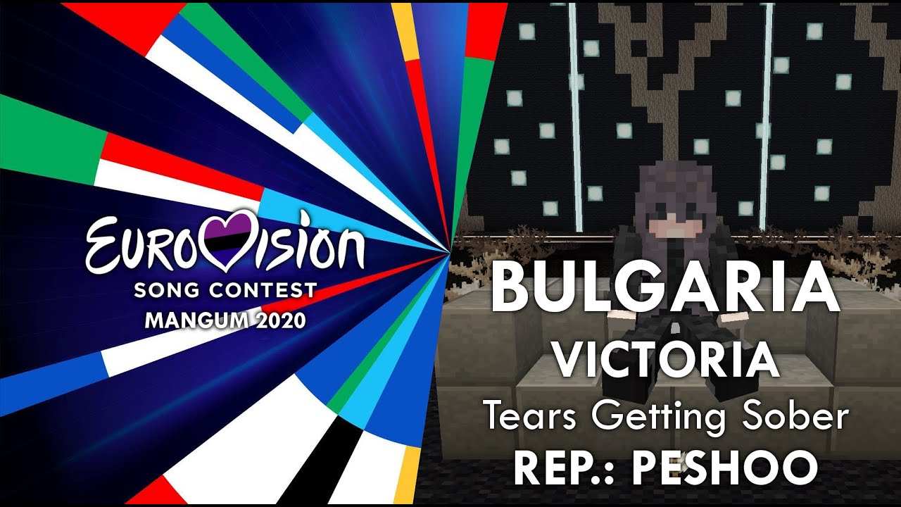 Victoria - Tears Getting Sober | BULGARIA | Minecraft Eurovision 2020