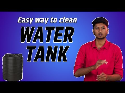 How to clean your water tank easily at home? | BIG BANG