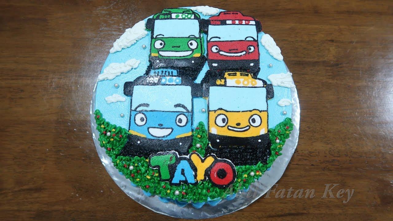 Birthday Cake Tayo The Cake Boutique