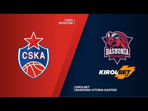 CSKA Moscow - KIROLBET Baskonia Vitoria-Gasteiz Highlights | Turkish Airlines EuroLeague PO Game 2