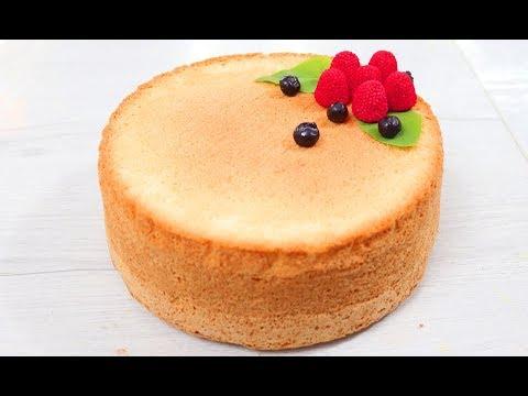 На удивление удачный Сметанный Бисквит! Мега-вкусный бисквит на сметане рецепт