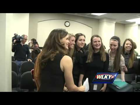 Actress Jennifer Garner spoke to Kentucky lawmakers in Frankfort