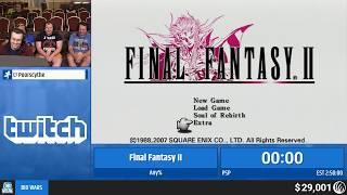 Final Fantasy II (PSP) by Poorscythe (RPG Limit Break 2019 Part 12)