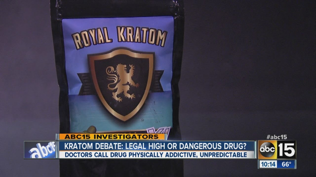 Kratom a legal high or dangerous drug?