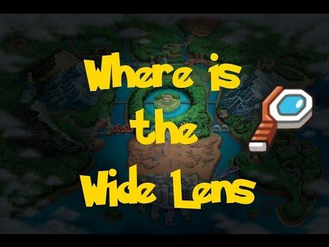 Where Is: The Wide Lens (Pokemon Black/White) - YouTube