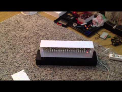 Led Letters DMX pixel control  - matrice 5 pe 25 - www.led-uri.com