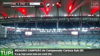 Vasco 0 x 1 Flamengo - Final - Campeonato Carioca Sub-20 - 19/05/2018 - AO VIVO