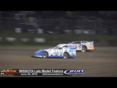 Proctor Speedway 6/26/16 WISSOTA Late Model Highlights