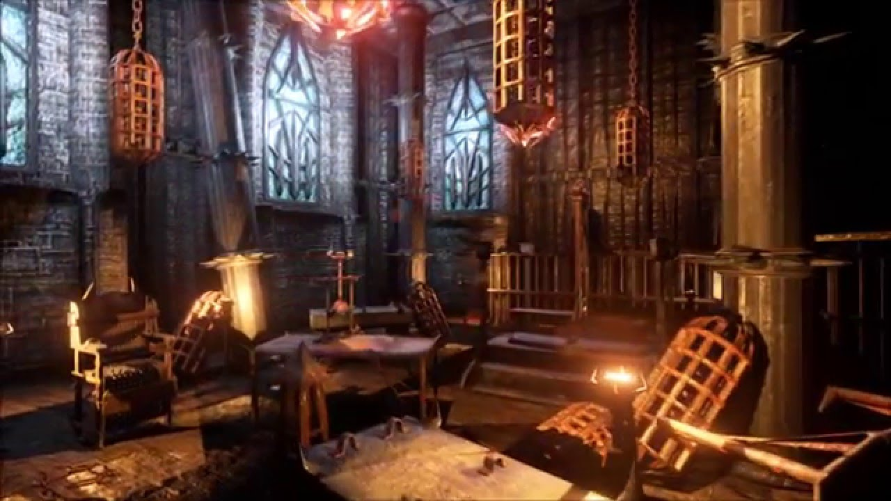 Middle Ages Torture Chamber In Unreal Engine Youtube