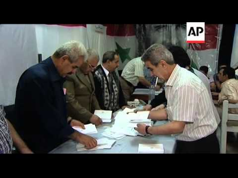 Polls close in Syrian elections