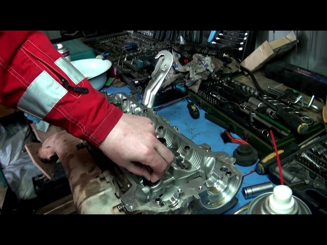 Фото к видео: Регулировка клапанов на двигателе 2UZ Toyota