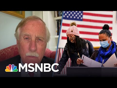 Sen. Angus King On Why Republicans Are Keeping People From Voting