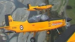 Classic Fighters 2003 airshow action scenes and DVD Trailer