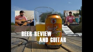 Left Hand Brewing Juicy Goodness Beer Review - Guitar Cover - Elton John - Your Song