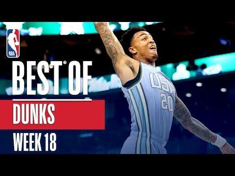 NBA's Best Dunks   Week 18