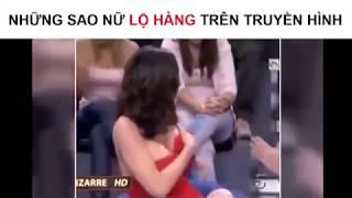 Sao nữ lộ hàng trên truyền hình
