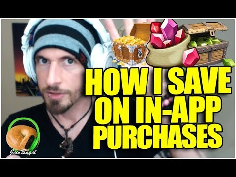 How I SAVE MONEY On In App Purchases In Mobile Games.