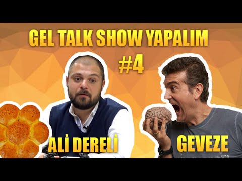 Gel Talk Show Yapalım -Diyetisyen Ali Dereli - #4 - Geveze Show