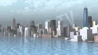 Consequences Of A Tidal Wave in New York, Is that really Possible? (3D model) [IgeoVision]
