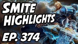 Smite Daily Highlights   Ep. 374   CaptainTwiggy, HiRezTV, Ultra_rusher, Deathwalker79, TekoThePeko