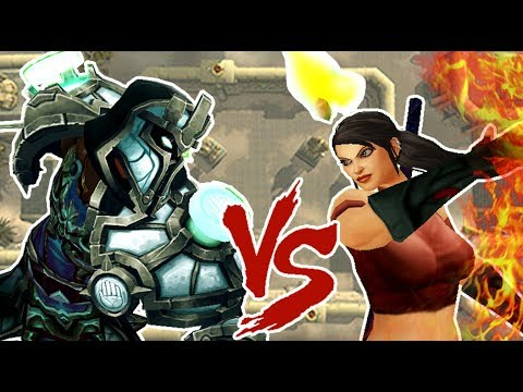 SAVIX VS HANSOL ( Ret Paladin vs Fire Mage)