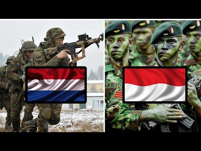 PERBANDINGAN Kekuatan Militer BELANDA Dan INDONESIA