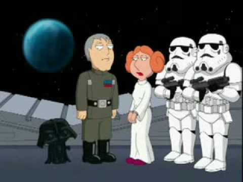 Family Guy Presents Blue Harvest: 'TIE Fighters' Clip | FunnyDog.TV Family Guy Blue Harvest Couch