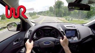 2017 Ford Escape Titanium 2.0L Ecoboost 4WD - WR TV POV Test Drive